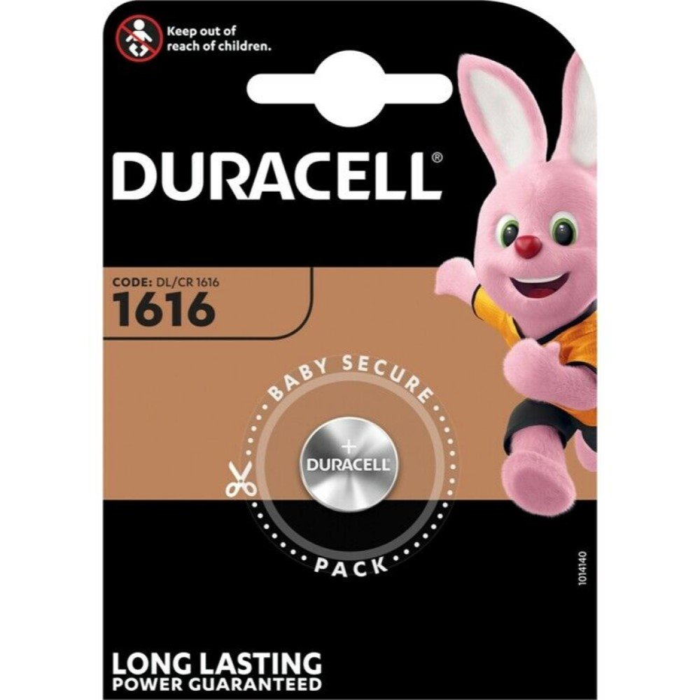 Duracell Knopfzelle Lithium 3,0 V DL 1616 B1