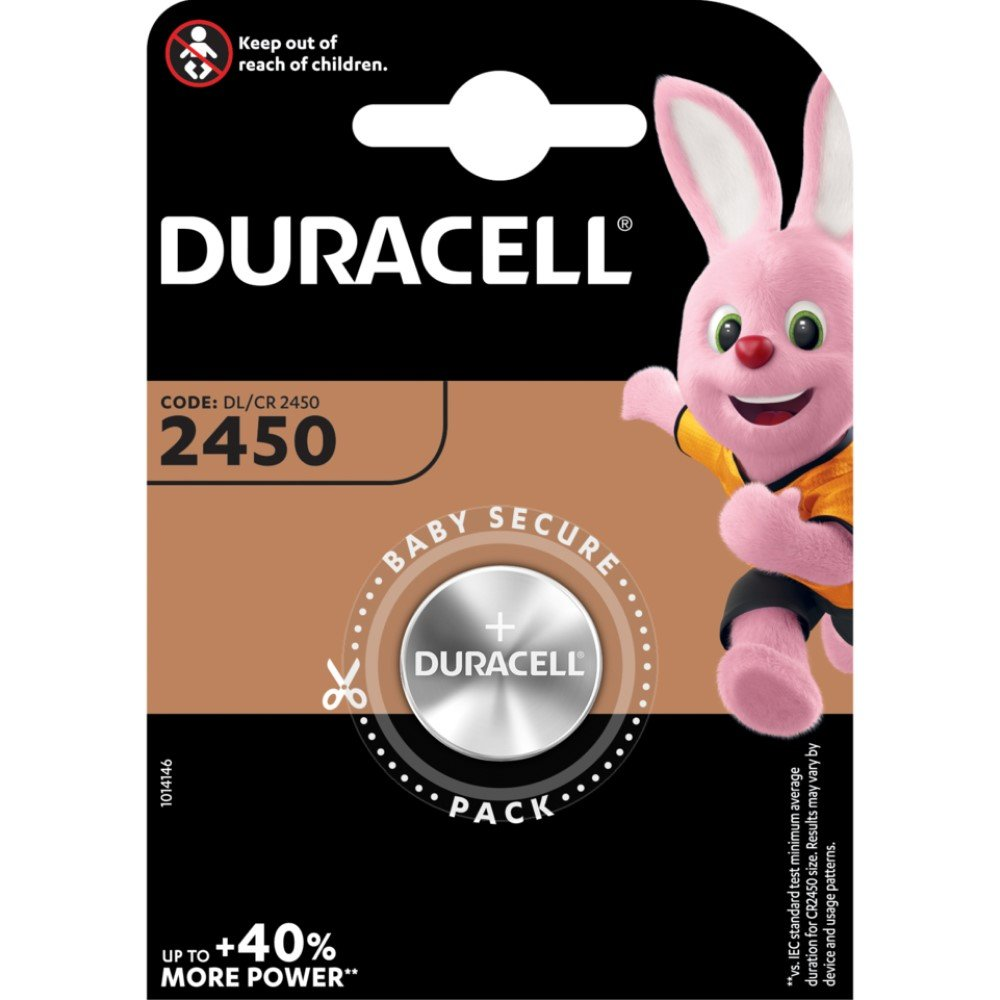 Duracell Knopfzelle Lithium 3,0 V DL 2450 B1