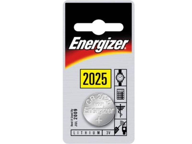 Energizer Knopfzelle Lithium CR 2025 B1