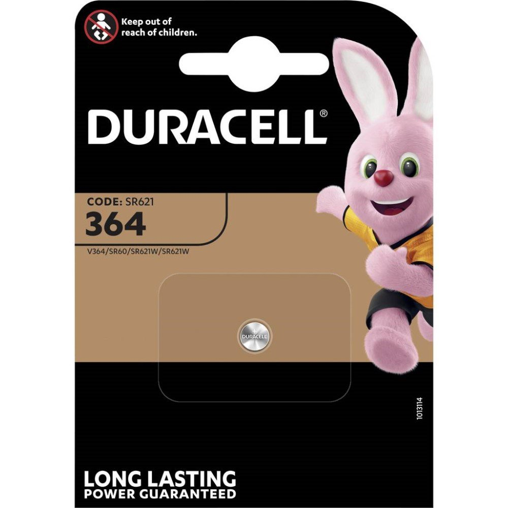Duracell Knopfzelle 1,55 V 6,8x2,1 mm D 364 B1
