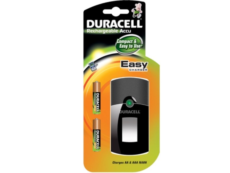 Duracell Easy Charger incl. 2*AAA CEF 24