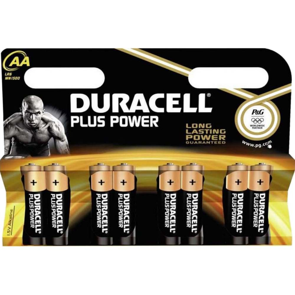 Duracell Mignon AA MN 1500 PLUS POWER B8