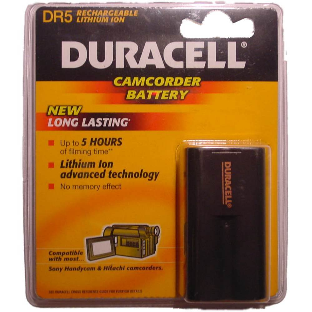 Duracell Camcorder-Accu 12 V 1600 mAh. DR 5