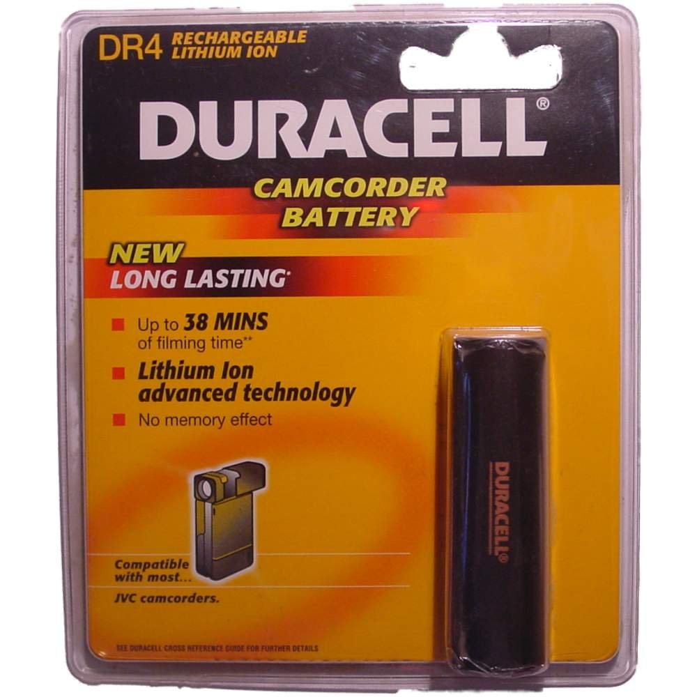 Duracell Camcorder-Accu  3,6 V 1600 mAh. DR 4