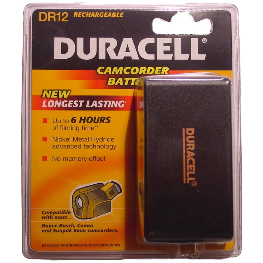 Duracell Camcorder-Accu 6 V 4300 mAh. DR 12