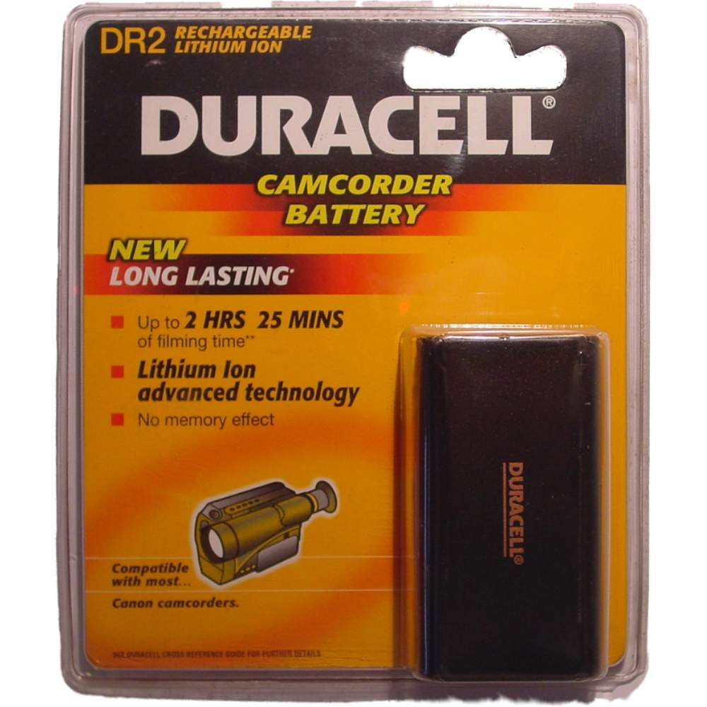 Duracell Camcorder-Accu 7,2 V 1600 mAh. DR 2