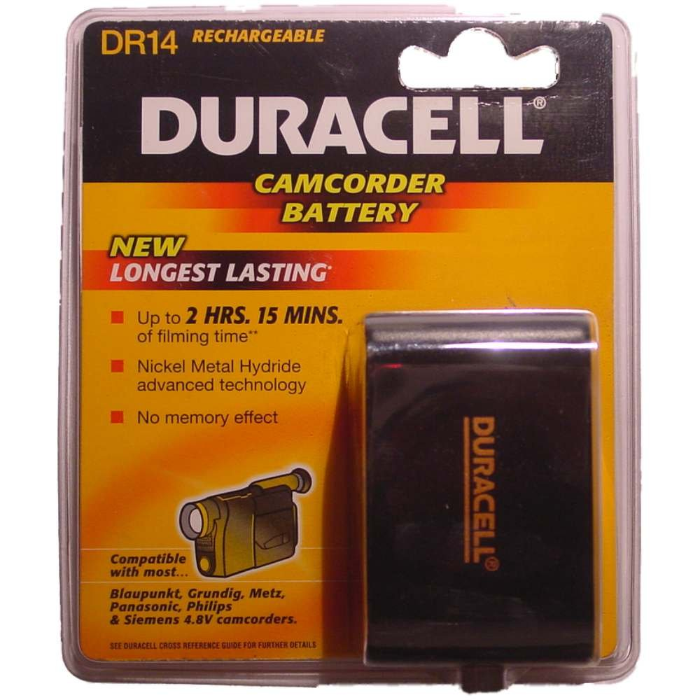 Duracell Camcorder-Accu 6 V 4300 mAh. DR 14
