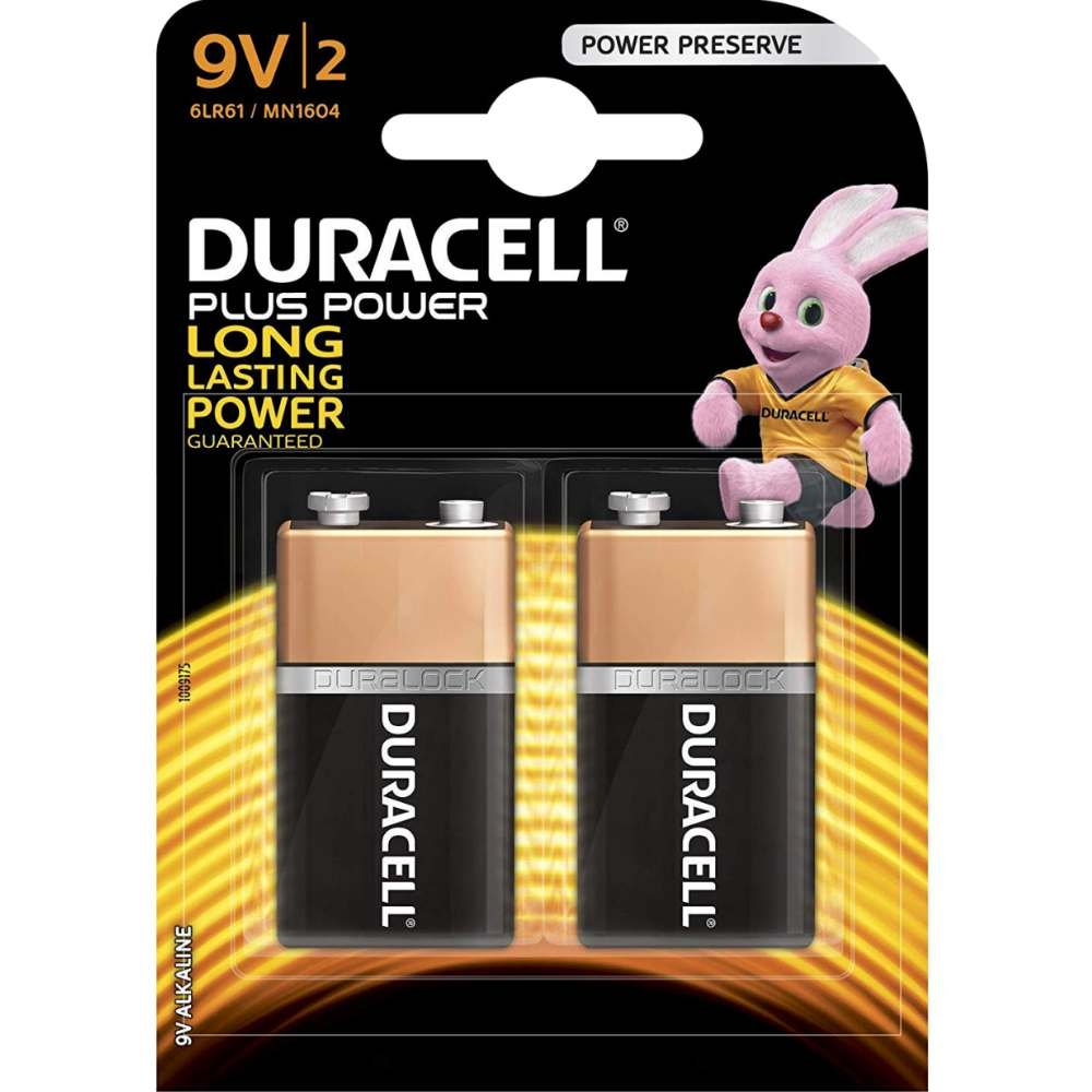 Duracell E-Block 9V MN 1604 PLUS POWER B2