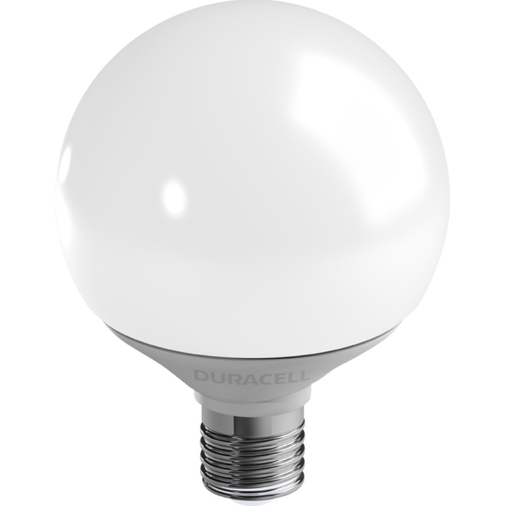 LED Globel. 9 W E27 G95 806 lm ww Duracell G200