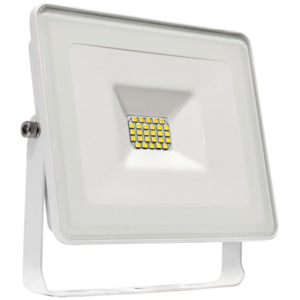 LED Fluter 20 W 1750 lm 4000 K IP 65 weiss Spectrum 29021NW