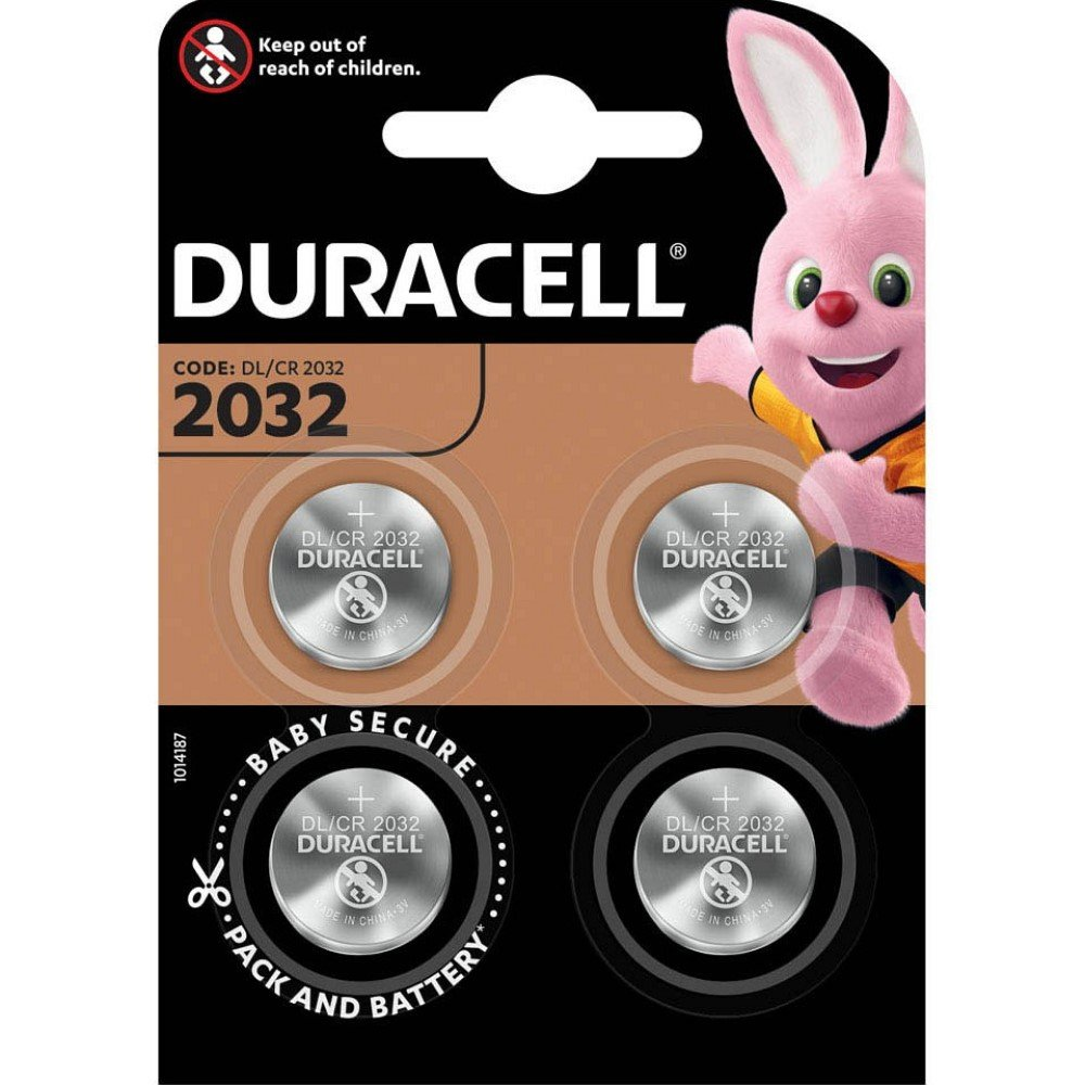Duracell Knopfzelle Lithium 3,0 V DL 2032 B4