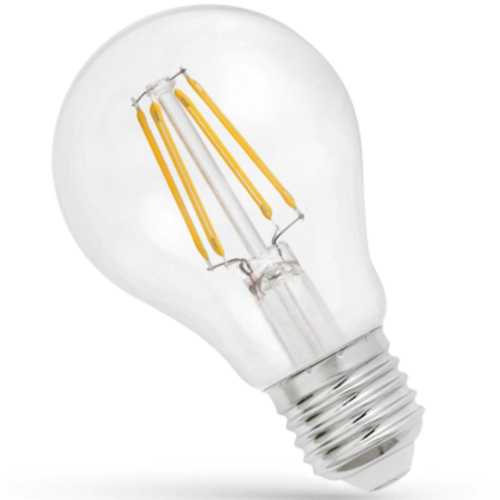 LED Filament Gluehl. 6 W E27 750 lm 3000 K klar Spectrum 13903