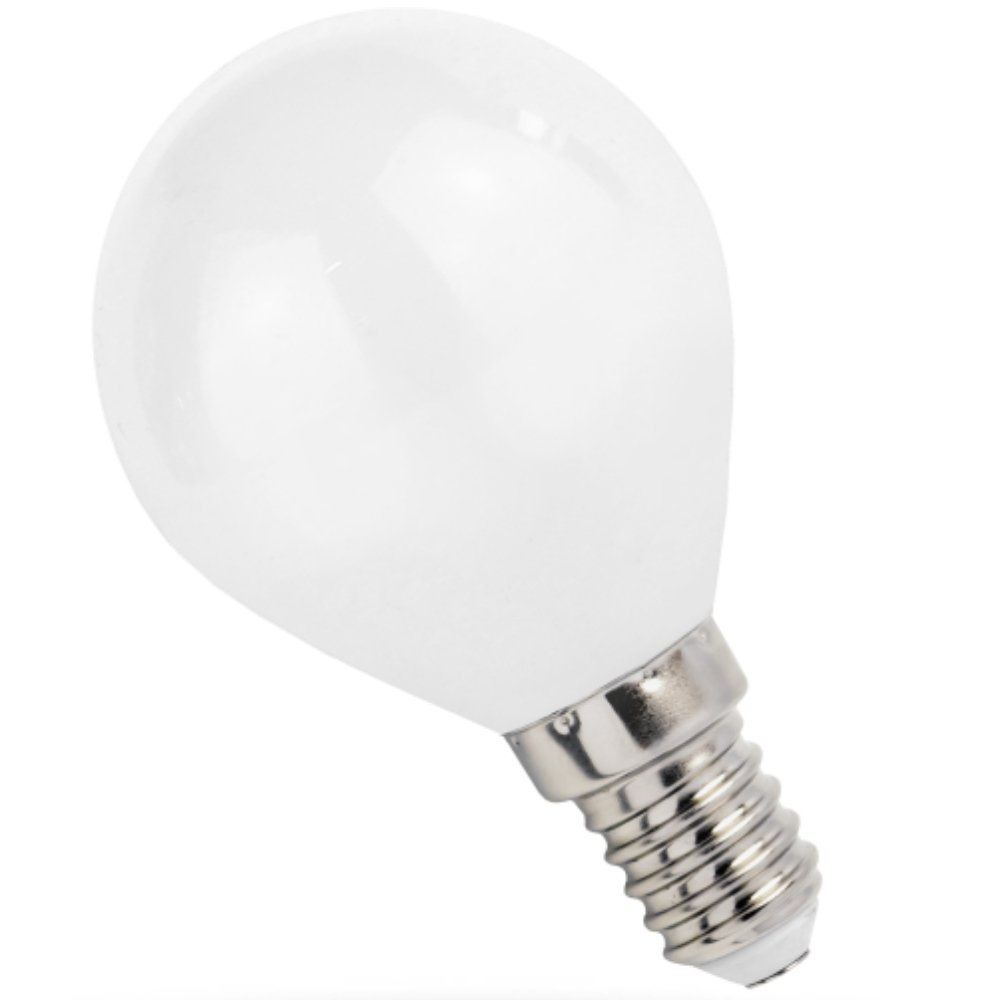LED Fil. Mini Globe 4 W E14 400 lm 3000 K opal Spectrum 14073