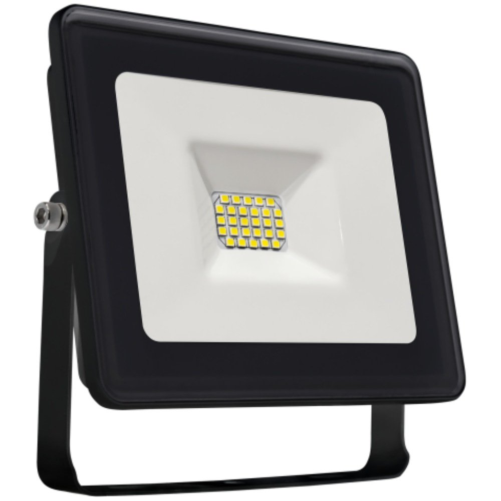 LED Fluter 20 W 1750 lm 4000 K IP 65 schwarz Spectrum 29025NW