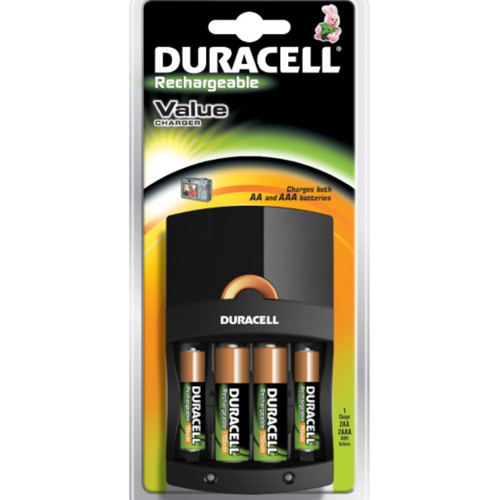 Duracell Value Charger incl. 2xAA & 2x AAA B1